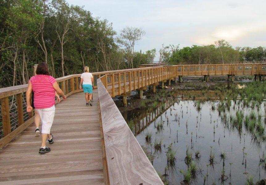 Safety Harbor Waterfront Park Boardwalk
